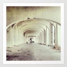 Viaduct Art Print