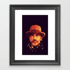 dr. King Schultz Framed Art Print