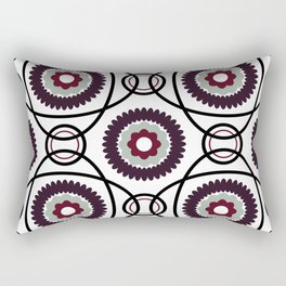 Elegant Party Print Rectangular Pillow