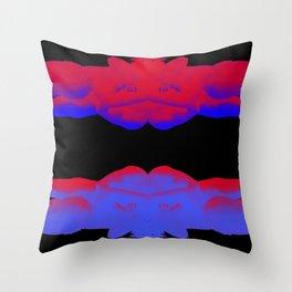 Dragonflies (dusk) Throw Pillow