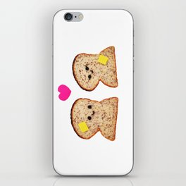 Toasty Love iPhone Skin