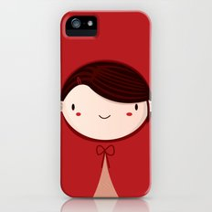 Little red iPhone (5, 5s) Slim Case