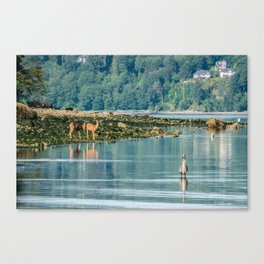 Everything is just Beachy Canvas Print