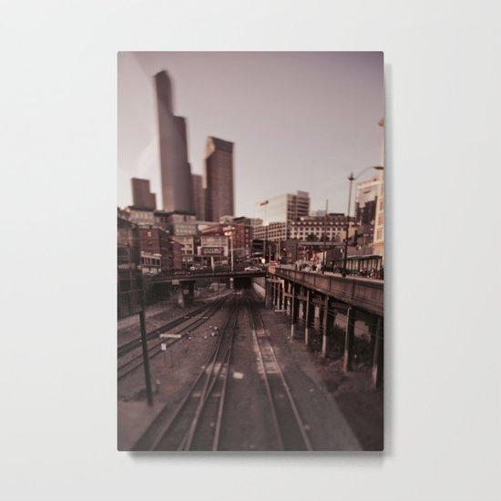 Seattle Metal Print