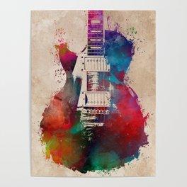 guitar art #guitar Poster