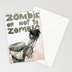Zombie + Shakespeare Stationery Cards