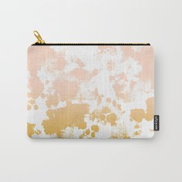 Essie - abstract minimal gold painting metallics home decor minimalist hipster Carry-All Pouch