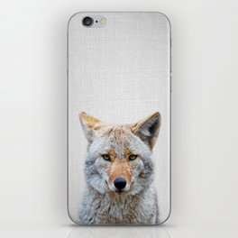 Coyote - Colorful iPhone Skin