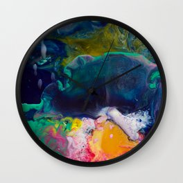 Abstract Melt XI Wall Clock