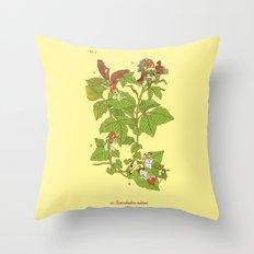 Toxicodendron radicans Throw Pillow