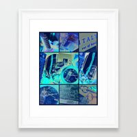 italy Framed Art Prints featuring Italy by Vic[tori]a Little