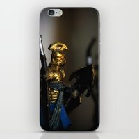 tolkien iPhone & iPod Skins featuring Tolkien Warriors by Madeline Audrey