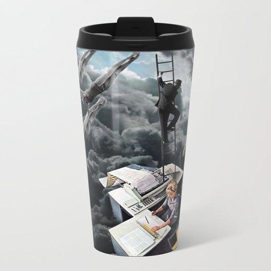 I see a little Light Metal Travel Mug