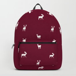RED DEER PATTERN Backpack
