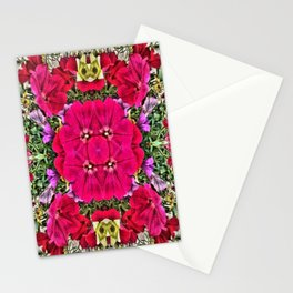 Flowers in miror Stationery Cards