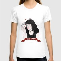 mia wallace T-shirts featuring Pulp Fiction's Mia Wallace by raeuberstochter