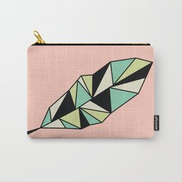 Geo Feather Carry-All Pouch