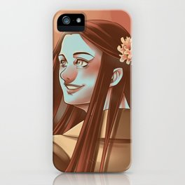 In the Flesh - Amy Dyer iPhone Case