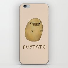 Pugtato iPhone & iPod Skin