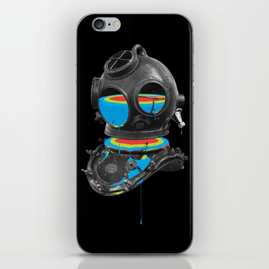 Diver No.12 iPhone & iPod Skin