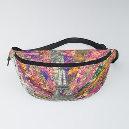 Vintage Paris Fanny Pack