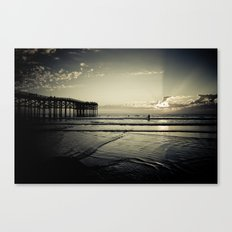 One More Wave Canvas Print