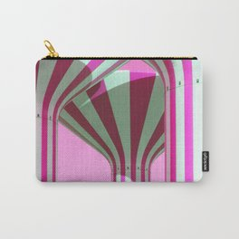 Pink Water Towers Carry-All Pouch