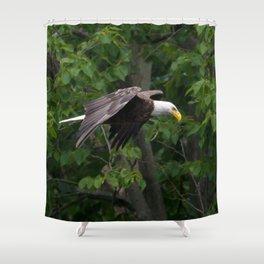 RIVER EAGLE Shower Curtain