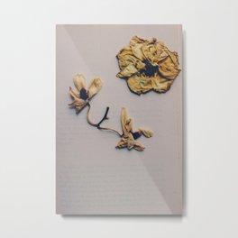 broken flower Metal Print