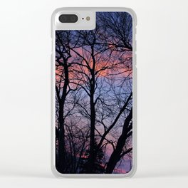 Silhouette #1 Clear iPhone Case