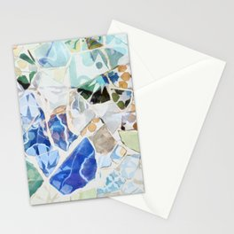 Mosaic of Barcelona VII Stationery Cards