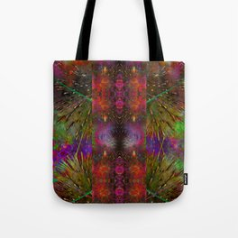 Pyrotechnic Pattern Tote Bag
