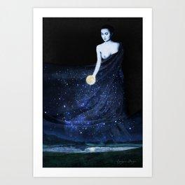 La Madre de la Noche Art Print
