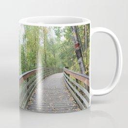 Walking Bridge in the Woods Coffee Mug