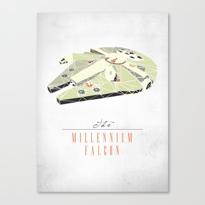 The Millennium Falcon Canvas Print