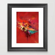 Uncaged Framed Art Print