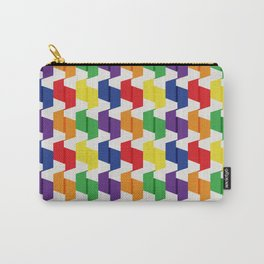 Paper Fold Colors Medium Carry-All Pouch
