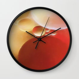 Space Bubbles Wall Clock