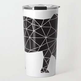 Elephant Angles (Help Save Endangered Elephants) Travel Mug