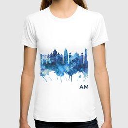 Amritsar Punjab Skyline Blue T-shirt
