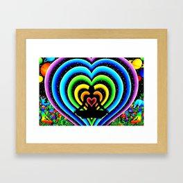 Love's Connection Framed Art Print