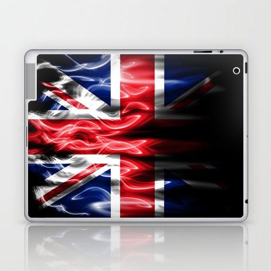 British flames  Laptop & iPad Skin