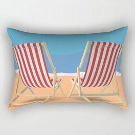 Florida Vintage Travel Poster Rectangular Pillow