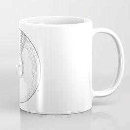Record Label Sketch Coffee Mug