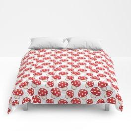 Cute Mushrooms Comforters