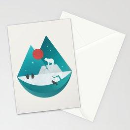 Arctic Antarctica Stationery Cards
