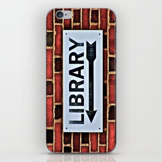 Library iPhone Skin