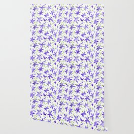 Watercolor floral vibes Wallpaper