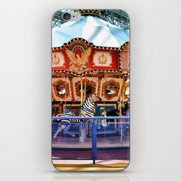 Carousel inside the Mall iPhone Skin