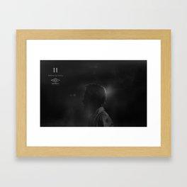 Neymar 11 Framed Art Print